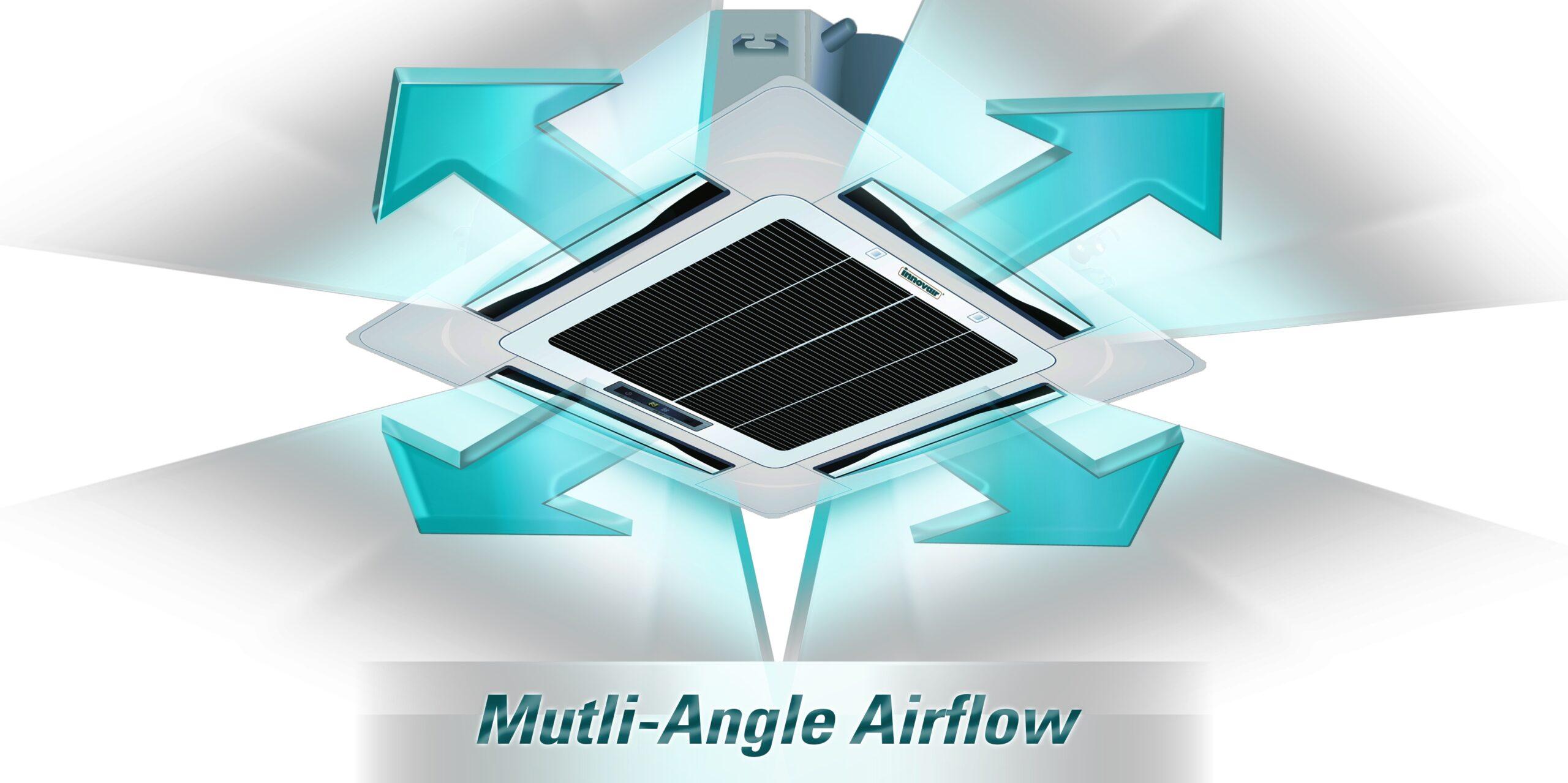 Multi-angle Airflow
